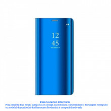 Husa Xiaomi Redmi Note 8 Pro Clear View Blue