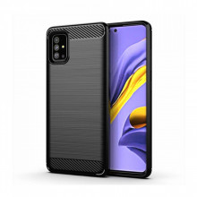 Husa Samsung Galaxy A51 TPU Carbon Black