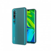 Husa Xiaomi MI Note 10 - Silicon Jelly, Htphone UltraSlim (0.3mm), Transparenta
