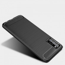 Carcasa TECH-PROTECT TPUCARBON Samsung Galaxy A41 Black