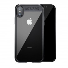 Husa Baseus Original Matte Frame, iPhone X, Black