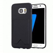 Husa de protectie MY PO-CARD Samsung Galaxy S7 Edge, G935 Black