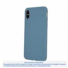 Husa Matt Tpu Samsung Galaxy A51, Gray Blue