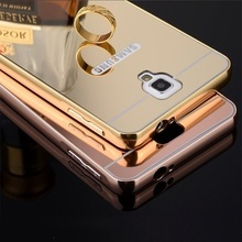 Husa Mirror Case Bling Metal pentru Samsung Galaxy Note 3 Neo/Note 3 Lite mini