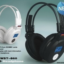 Casca MP3 wireless WST-860