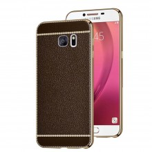 Husa Plating Business Style Samsung Galaxy S7 Edge, Brown