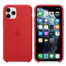 Husa Silicon Apple iPhone 11 Pro, Red, Blister MWYH2ZM/A
