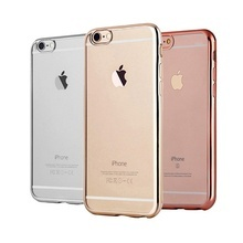 Husa Clear View pentru Apple iPhone 6 / 6S Luxury Noble TPU Slim
