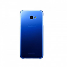 Husa de protectie Samsung Gradation Cover pentru Galaxy J4 Plus (2018), Shades of Blue
