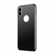 Husa Mirror Case Luxury de iPhone X, Black