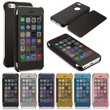 Husa Clear View Book Mirror  iPhone 5 / 5S / SE