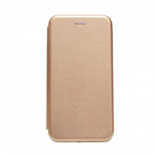 Husa Smart Magnet Book Case Huawei P30 Lite, Gold