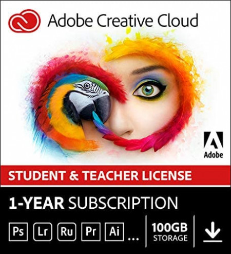 Adobe Creative Cloud Student and Teacher Edition All Apps (2020) MULTI Win/Mac -subscriptie anuala