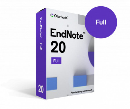 EndNote 20, Full, licenta electronica