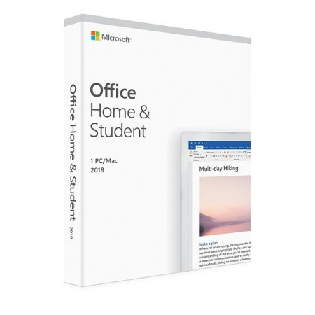 Microsoft Office Home and Student 2019 PC/MAC, All Languages Electronica