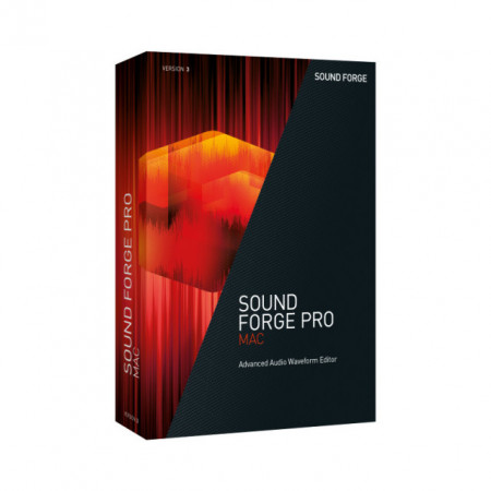 Sound Forge Pro Mac 3 Upgrade