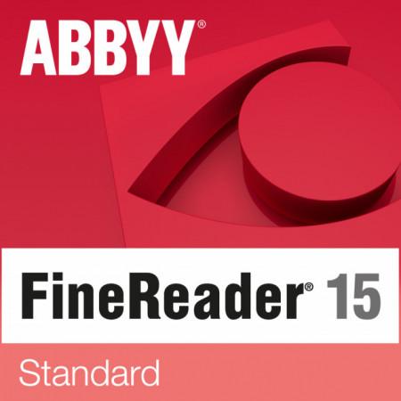 ABBYY FineReader 15 Standard Guvernamentala ESD