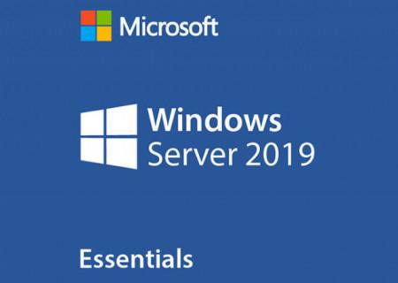 Microsoft Windows Server Essentials 2019 64 Bit, Engleza, DVD