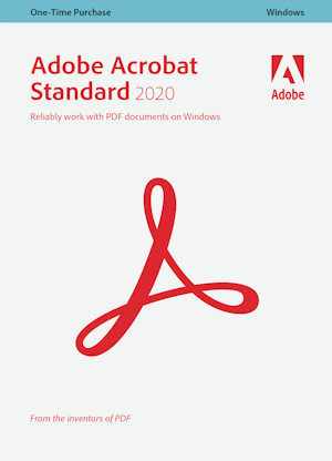 Adobe Acrobat Standard 2020, Windows, Upgrade