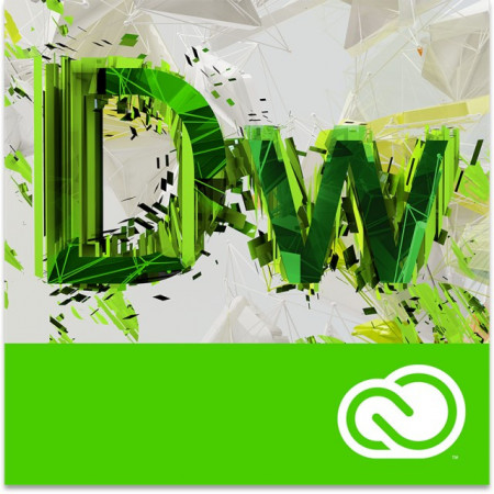 Adobe Dreamweaver CC, Windows/Mac, licenta educationala, subscriptie anuala