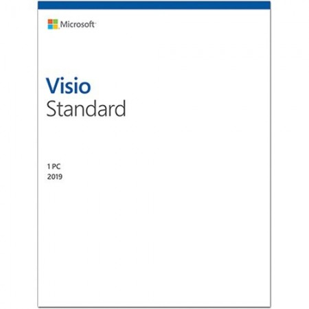 Microsoft Visio Standard 2019, all languages, Windows PC, licenta electronica