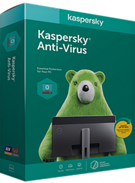 Kaspersky Antivirus 5 PC ani: 1, reinnoire