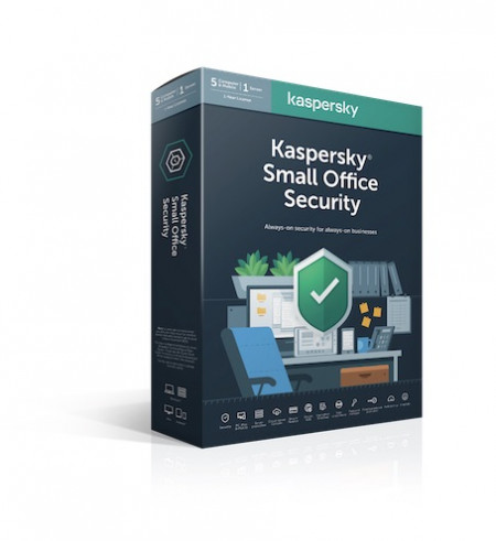 Kaspersky Small Office Security - Pachet 8 Dispozitive, 1 an, Reinnoire, Licenta Electronica