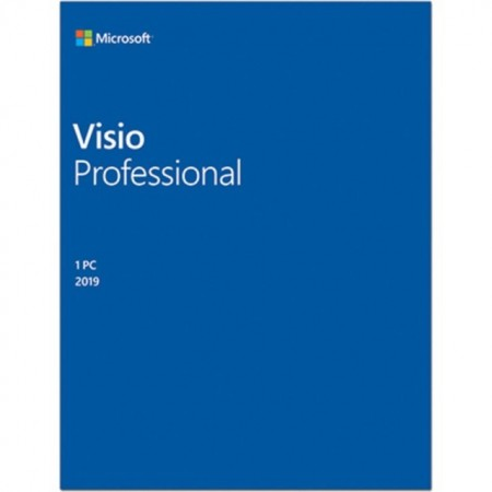 Microsoft Visio Professional 2019, all languages, Windows PC, licenta electronica