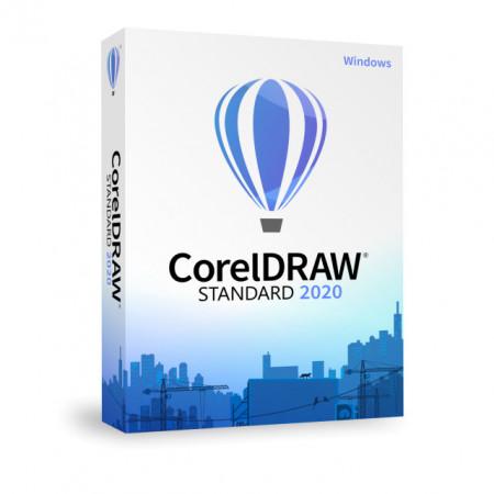 CorelDRAW Standard 2020 Business Win, licenta permanenta