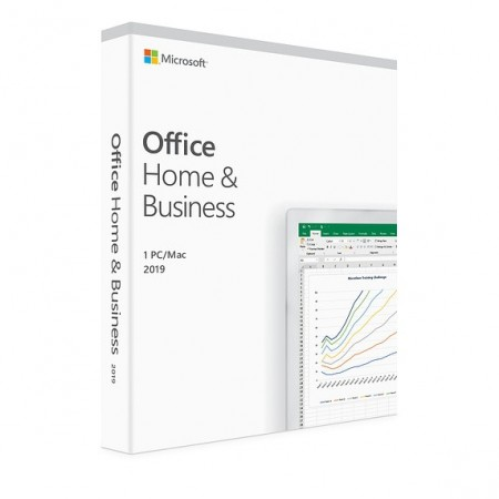 Microsoft Office Home and Business 2019 PC/MAC, All languages, FPP, Electronica