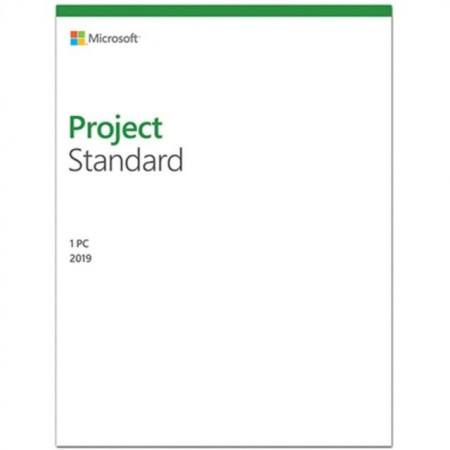 Microsoft Project Standard 2019, all languages, Windows PC, licenta electronica