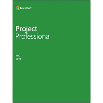 Microsoft Project Professional 2019, all languages, Windows PC, licenta electronica
