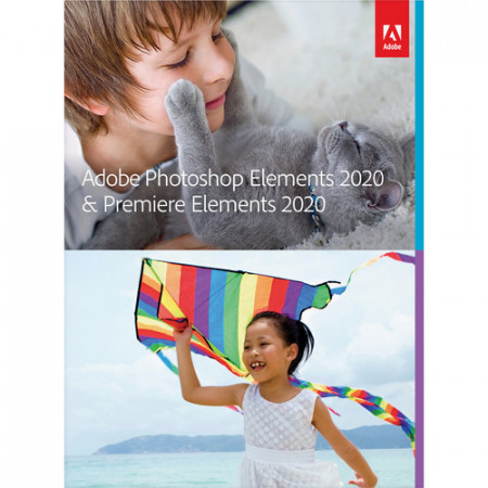 Adobe Photoshop Elements 2020 & Adobe Premiere Elements 2020 ENG Win/Mac, Educationala, DVD