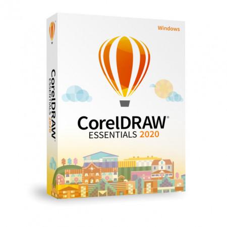 CorelDraw Essentials 2020, Licenta permanenta, BOX