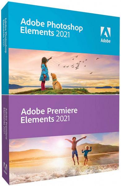 Adobe Photoshop Elements 2021 & Premiere Elements 2021 ENG Win / Mac - electronica