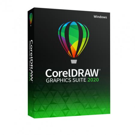 CorelDRAW Graphics Suite 2020, Windows, DVD