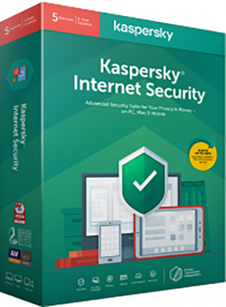Kaspersky Internet Security 5 Dispozitive, 2 ani, Reinnoire, Licenta Electronica