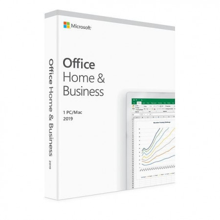 Microsoft Office Home and Business 2019 1 PC/MAC, All languages, FPP, BOX