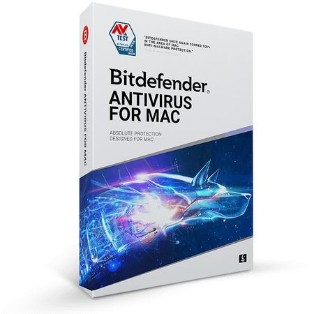 Bitdefender Antivirus for Mac 2021, 1 dispozitiv, 2 ani - Licenta Electronica