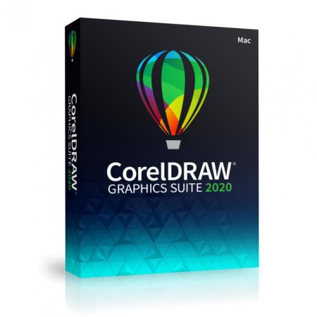 CorelDRAW Graphics Suite 2020, MAC, DVD