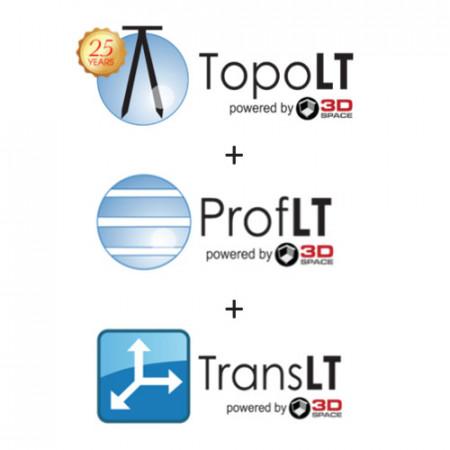 Pachet TopoLT 13 + ProfLT 13 + TransLT 6