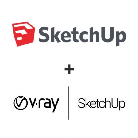 SketchUp Pro 2019 + V-ray 3.6 pentru SKetchUp - licenta perpetua