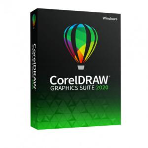 CorelDRAW Graphics Suite 2020, Windows, licenta electronica, educationala.