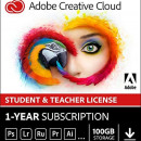 Adobe Creative Cloud All Apps 2020, Windows/Mac, licenta educationala, subscriptie anuala