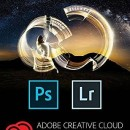Adobe Creative Cloud Fotografie - Photoshop CC + Lightroom CC, Windows/Mac, 1 an