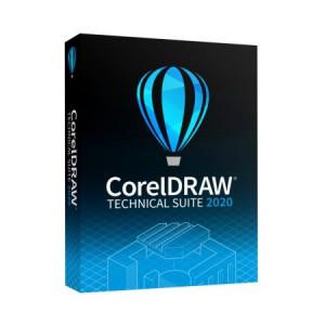 CorelDRAW Technical Suite 2020 - 1 utilizator - Electronica (windows)