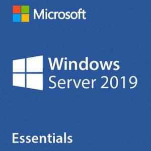 Microsoft Server 2019 Essentials, 1-2 CPU, DVD