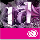 Adobe InDesign CC, Windows/Mac, licenta educationala, subscriptie anuala