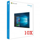 Microsoft Windows 10 Home, 32/64 bit, Engleza, Retail, USB - 10 licente