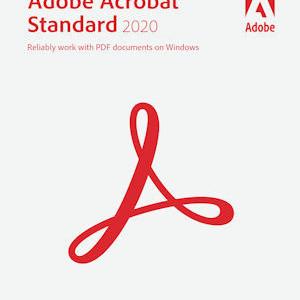 Adobe Acrobat Standard 2020 Windows, Upgrade